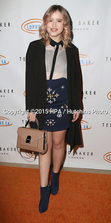 LOS ANGELES - NOV 20:  Taylor Spreitler at the 13th Annual Lupus LA Hollywood Bag Ladies Luncheon at the Beverly Hilton Hotel on November 20, 2015 in Beverly Hills, CA