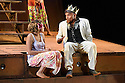 Malthouse Theatre presents The Shadow King,  based on Shakespeare's King Lear, in the Barbican Theatre. Picture shows: Rarriwuy Hick (Cordelia), Tom E Lewis (King Lear)