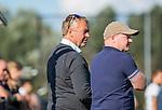 ROTTERDAM- Tilburg-Rotterdam . coach Albert Kees Manenschijn (Rdam) met assistent Kai de Jager  ABN AMRO CUP 2019 COPYRIGHT KOEN SUYK.