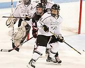 Casey Pickett (NU - 14), Victoria Virtue (PC - 14) - The Northeastern University Huskies defeated the visiting Providence College Friars 8-7 on Sunday, January 20, 2013, at Matthews Arena in Boston, Massachusetts.