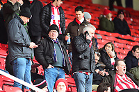 Lincoln City fans enjoy the pre-match atmosphere<br /> <br /> Photographer Andrew Vaughan/CameraSport<br /> <br /> The EFL Sky Bet League Two - Swindon Town v Lincoln City - Saturday 12th January 2019 - County Ground - Swindon<br /> <br /> World Copyright © 2019 CameraSport. All rights reserved. 43 Linden Ave. Countesthorpe. Leicester. England. LE8 5PG - Tel: +44 (0) 116 277 4147 - admin@camerasport.com - www.camerasport.com
