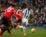 Saido Berahino of West Bromwich Albion - English Premier League - West Bromwich Albion vs Manchester Utd - The Hawthorns Stadium - West Bromwich - England - 6th March 2016 - Picture Simon Bellis/Sportimage
