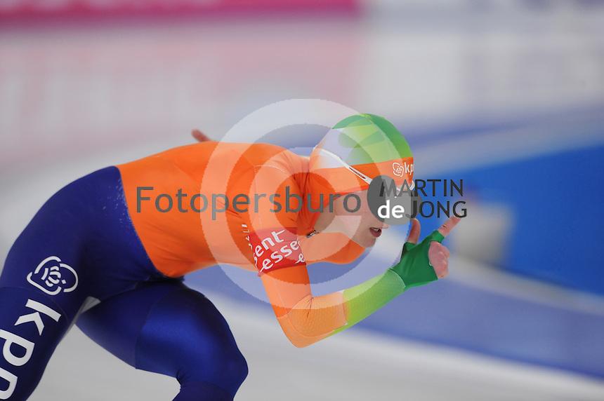 SCHAATSEN: BERLIJN: Sportforum, Essent ISU World Cup Speed Skating | The Final, 11-03-2012, 1000m Ladies, Marrit Leenstra (NED), ©foto Martin de Jong