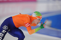 SCHAATSEN: BERLIJN: Sportforum, Essent ISU World Cup Speed Skating | The Final, 11-03-2012, 1000m Ladies, Marrit Leenstra (NED), ©foto Martin de Jong