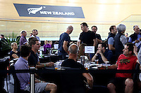 during the UCI Cycling World Cup at the Avantidrome, Cambridge, New Zealand, Saturday, December 05, 2015. Credit: Dianne Manson/CyclingNZ/UCI