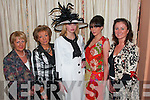At the Fashion Show in Kirby's Lanterns Hotel Tarbert on Wednesday night from l-r Annette Mann (Annett's Boutique Abbeyfeale) Bride O'Connor, (Brides Boutique Glin) modals Katianne and Aisling Bourke ( Celia Holman Lee Modelling Agency Limerick) and Esther McElligott (Esther McElligott Casuals Abbeyfeale )   Copyright Kerry's Eye 2008