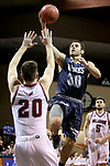 SIOUX FALLS, SD: MARCH 22: Luke Schroepfer #30 from Colorado Mines takes the ball to the basket against Bellarmine during the Men's Division II Basketball Championship Tournament on March 22, 2017 at the Sanford Pentagon in Sioux Falls, SD. (Photo by Dave Eggen/Inertia)