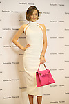 March 16, 2016, Tokyo, Japan - Australian actress Miranda Kerr poses as she attends a promotoin event of Japanese handbag maker Samantha Thavasa at the company's shop in Tokyo on Wednesday, March 16, 2016. American Korean singer Crystal kay attended the event as she sings an image song for the latest commercial film.   (Photo by Yoshio Tsunoda/AFLO) LWX -ytd-