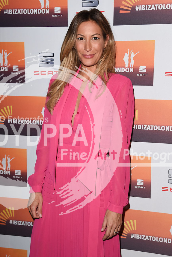Laura Pradelska<br /> attends the SEAT Ibiza launch party at Carousel, London<br /> <br /> &copy;Ash Knotek  D3019  29/09/2015