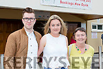 Stephen O'Leary, Aine Connell and Margaret Connell at the Castleisland Strictly Come Dancing on Friday night
