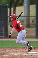 Cincinnati Reds Jake Turnbull (75) during an instructional league game against the Los Angeles Dodgers on October 20, 2015 at Cameblack Ranch in Glendale, Arizona.  (Mike Janes/Four Seam Images)