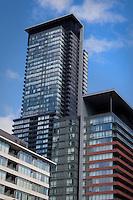 Waterfront condominium building are pictured in Toronto April 22, 2010.