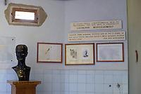 Roma 5 Maggio 2015.<br /> Museo Storico della Liberazione.<br /> Giuseppe Montezemolo.<br /> Via Tasso 155, era il Comando SS e Gestapo, della polizia Nazista durante l'occupazione da parte delle Germania durante la Seconda Guerra Mondiale.<br /> Rome, June 6, 2015.<br /> Historical Museum of the Liberation.Via Tasso 155, was the SS and Gestapo Command, the police during the Nazi occupation by Germany during the Second World War.