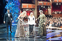 Jodi Foster and Jennifer Lawrence walk off stage after presenting the Oscar&reg; for best actress in a leading role to Frances McDormand for work on &quot;Three Billboards Outside Ebbing, Missouri&quot; during the live ABC Telecast of The 90th Oscars&reg; at the Dolby&reg; Theatre in Hollywood, CA on Sunday, March 4, 2018<br /> *Editorial Use Only*<br /> CAP/PLF/AMPAS<br /> Supplied by Capital Pictures