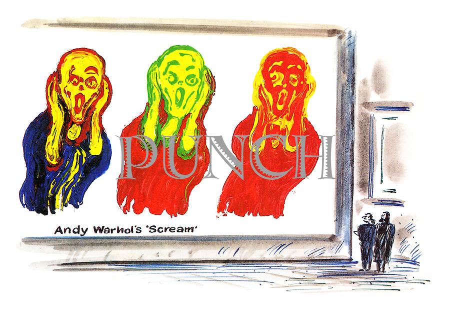 (Andy Warhol's Scream)