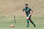 20 September 2015: Stetson's David Caulfield. The Campbell University Camels hosted the Stetson University Hatters at Eakes Athletics Complex in Buies Creek, NC in a 2015 NCAA Division I Men's Soccer game. Campbell won the game 1-0.