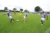 """VOETBAL: DE KNIPE: 21-06-2014, Sportpark """"De Jister"""", 1e training SC Heerenveen met de nieuwe hoofdtrainer/coach Dwight Lodeweges, ©foto Martin de Jong"""