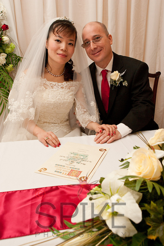 The Wedding blessing of Dr Mark Stein and EnQi Li