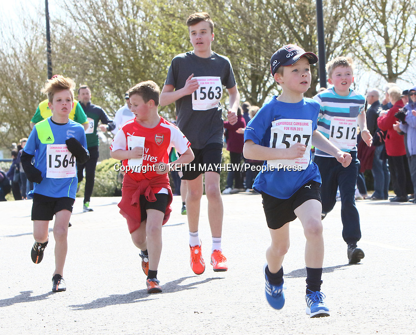 Cambourne 10K and Fun Run at Cambourne Business Park, near Cambridge, England on April 12th 2015<br /> <br /> Photo by Keith Mayhew