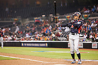 18 March 2009: #51 Ichiro Suzuki of Japan is seen at bat during the 2009 World Baseball Classic Pool 1 game 5 at Petco Park in San Diego, California, USA. Japan wins 5-0 over Cuba.
