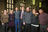 Images from the annual 'University of Manchester - Directorate for the Student Experience' awards, held at the Great Hall at UMIST in central Manchester on Thursday 25th February 2016.