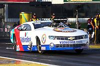 May 31, 2013; Englishtown, NJ, USA: NHRA pro mod driver Mike Janis during the Summer Nationals at Raceway Park. Mandatory Credit: Mark J. Rebilas-
