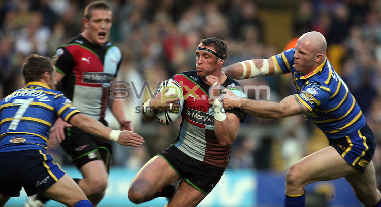 PICTURE BY VAUGHN RIDLEY/SWPIX.COM - Rugby League - Superleague - Leeds v Harlequins - Headingley, Leeds, England  - 24/04/09...Copyright - Simon Wilkinson - 07811267706...Harlequins Rob Purdham.