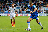 Jake Hessenthaler of Gillingham in action during Gillingham vs Portsmouth, Sky Bet EFL League 1 Football at the MEMS Priestfield Stadium on 8th October 2017