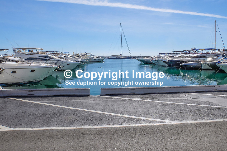 Changed days - finding a parking space at the marina in Puerto Banus was once a nightmare. October, 2018, 2018101205124<br />