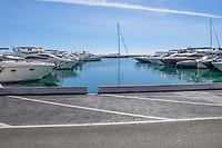 Changed days - finding a parking space at the marina in Puerto Banus was once a nightmare. October, 2018, 2018101205124<br /><br />Copyright Image from Victor Patterson, 54 Dorchester Park, <br />Belfast, UK, BT9 6RJ<br /><br />t1: +44 28 9066 1296 (from Rep of Ireland 048 9066 1296)<br />t2: +44 28 9002 2446 (from Rep of Ireland 048 9002 2446)<br />m: +44 7802 353836<br /><br />victorpattersonbelfast@gmail.com<br /><br />Please see my Terms and Conditions of Use at victorpatterson.com. It is IMPORTANT that you familiarise yourself with them.<br /><br />Images used on the Internet incur an additional cost and must be visibly watermarked i.e. &copy; Victor Patterson within the body of the image and copyright metadata must not be deleted. Images used on the Internet have a size restriction of 4kbs and are chargeable at rates available at victorpatterson.com.<br /><br />This image is available only for the use of the download recipient i.e. television station, newspaper, magazine, book publisher, etc, and must not be passed on to any third party. It is also downloaded on condition that each and every usage is notified within 7 days to victorpattersonbelfast@gmail.com<br /><br />The right of Victor Patterson (or the named photographer) to be identified as the author is asserted in accordance with The Copyright Designs And Patents Act (1988). All moral rights are asserted.