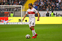 Emiliano Insua (VfB Stuttgart) - 31.03.2019: Eintracht Frankfurt vs. VfB Stuttgart, Commerzbank Arena, DISCLAIMER: DFL regulations prohibit any use of photographs as image sequences and/or quasi-video.