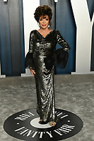 09 February 2020 - Los Angeles, California - Joan Collins<br /> . 2020 Vanity Fair Oscar Party following the 92nd Academy Awards held at the Wallis Annenberg Center for the Performing Arts. Photo Credit: Birdie Thompson/AdMedia