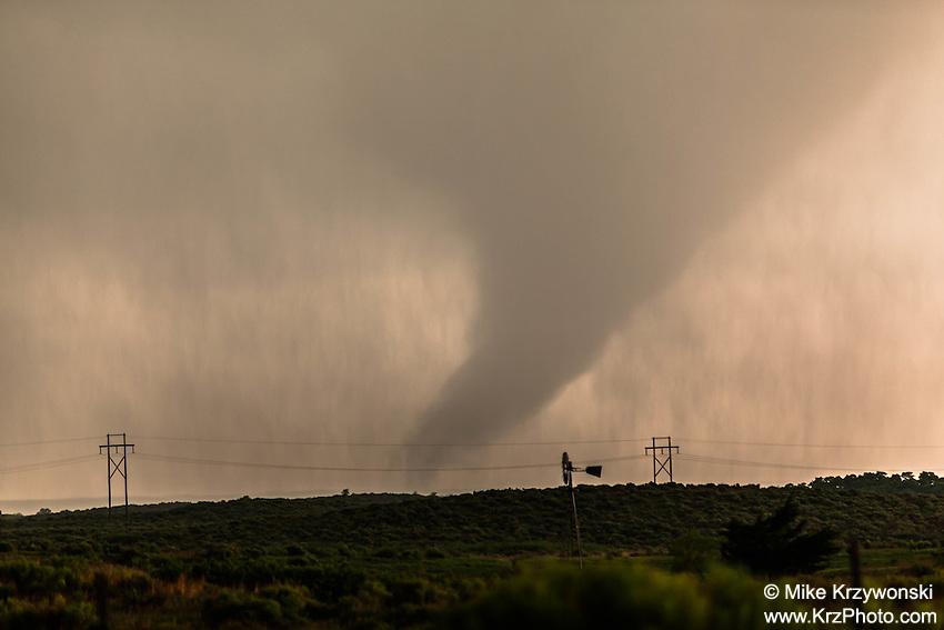 Tornado in Woodward, OK, May 23, 2016