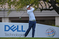 Emiliano Grillo (ARG) watches his tee shot on 1 during day 3 of the WGC Dell Match Play, at the Austin Country Club, Austin, Texas, USA. 3/29/2019.<br /> Picture: Golffile | Ken Murray<br /> <br /> <br /> All photo usage must carry mandatory copyright credit (© Golffile | Ken Murray)