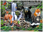 Howard, REALISTIC ANIMALS, REALISTISCHE TIERE, ANIMALES REALISTICOS, paintings+++++Shenandoah poster,GBHRPROV140,#A# ,puzzles
