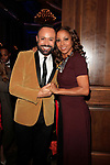 LOS ANGELES - DEC 5: Nick Verreos, Holly Robinson Peete at The Actors Fund's Looking Ahead Awards at the Taglyan Complex on December 5, 2017 in Los Angeles, California