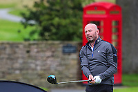 Alan Shearer during the Graham Wylie Foundation- Have A Heart- golf day with Lee Westwood and Ronan Keating at Close House Golf Club, Heddon on the wall, England on 10 September 2018. Photo by Thomas Gadd.