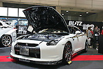 Jan 15, 2010 - Chiba, Japan - Nissan R35 GT-R customized by HKS Kansai is displayed during the Tokyo Auto Salon 2010 in Chiba, suburb Tokyo, on January 15, 2010. More than 400 companies, associations and groups are displaying more than 600 custom vehicules in the Japan's biggest tuning show which takes place between January 15 and 17. (Photo Laurent Benchana/Nippon News)