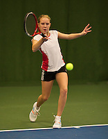 November 30, 2014, Almere, Winter Youth Circuit, WJC, Gigi Sy-A-Foek    Melissa Boyden<br /> Photo: Henk Koster