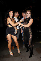 LONDON, ENGLAND - NOVEMBER 09 :  Roxy Mendez and Sienna Day attend The Paul Raymond Awards 2017, at the Cafe de Paris on November 09, 2017 in London, England.<br /> CAP/AH<br /> &copy;Adam Houghton/Capital Pictures