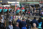 Charra Perlas de Nevada ride in the annual Nevada Day parade in Carson City, Nev. on Saturday, Oct. 29, 2016. <br />