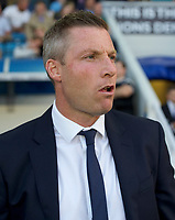 Neil Harris Manager of Millwall during the Sky Bet Championship match between Millwall and Ipswich Town at The Den, London, England on 15 August 2017. Photo by Alan  Stanford / PRiME Media Images.