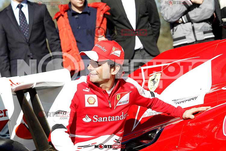 The test driver for Ferrari Pedro de la Rosa during the gala Santander  Karting Champions 2012..(Alterphotos/Acero) NortePhoto