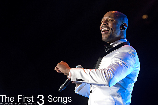 Tank (real name Durrell Babbs) performs during the 2014 Essence Festival at the Mercedes-Benz Superdome in New Orleans, Louisiana.