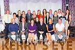 Michael and Margaret Carey, Killarney celebrate their 50th wedding anniversary with their family and friends in the Dromhall Hotel Killarney on Saturday night front row l-r: Patrick, John, Michael, Margaret, Mag, and Richard Carey. Back row: Joe and Abbie Nash, Bridann Carey, Kathleen M angan, richard Carey, Annmarie Fleminh, Lauren carey, Karen Harrington, Tricia Harrington, john and Caroline Harrington, Ann, Christopher Carey, Michael and Carmel Nash