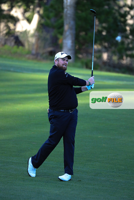 Shane Lowry (IRL) during the first round of the AT&T Pro-Am, Pebble Beach Golf Links, Monterey, California, USA. 07/02/2019<br /> Picture: Golffile | Phil Inglis<br /> <br /> <br /> All photo usage must carry mandatory copyright credit (© Golffile | Phil Inglis)