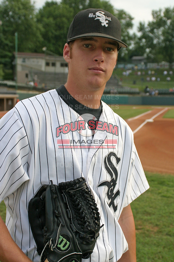 August 23, 2005:  Nicholas (Nick) Walters of the Bristol White Sox during a game at Devault Memorial Stadium in Bristol, VA.  Bristol is the Appalachian League Rookie affiliate of the Chicago White Sox.  Photo by:  Mike Janes/Four Seam Images