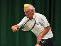 August 22, 2014, Netherlands, Amstelveen, De Kegel, National Veterans Championships, Kees Schreuder<br /> Photo: Tennisimages/Henk Koster