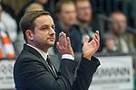 10.03.2018, RASTA Dome 2.0, VECHTA, GER, Beko BBL ProA, RASTA Vechta vs Phoenix Hagen, im Bild<br /> <br /> <br /> Kevin Magdowski (Phoenix Hagen #Headcoach)<br /> nachdenklich<br /> Beifall, Gestik, Mimik,<br /> Foto &copy; nordphoto / Kokenge