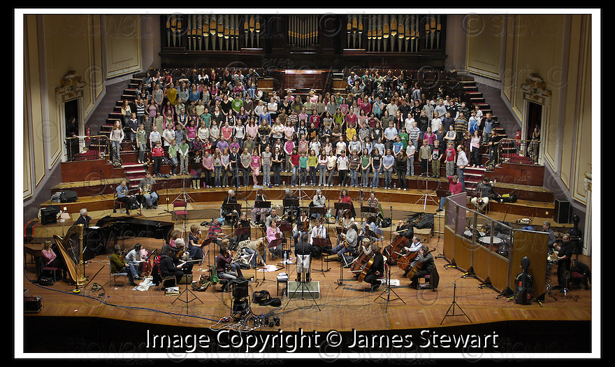25/03/2007       Collect Pic: James Stewart.File Name : sct_jspa02_choir.THE CHOIRS OF ERSKINE STEWART'S MELVILLE SCHOOLS RECORD AT THE ALBERT HALLS, EDINBURGH, WITH THE SCOTTISH CHAMBER ORCHESTRA, CONDUCTED BY HOWARD BLAKE......James Stewart Photo Agency 19 Carronlea Drive, Falkirk. FK2 8DN      Vat Reg No. 607 6932 25.Office     : +44 (0)1324 570906     .Mobile   : +44 (0)7721 416997.Fax         : +44 (0)1324 570906.E-mail  :  jim@jspa.co.uk.If you require further information then contact Jim Stewart on any of the numbers above.........